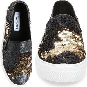 {Steve Madden} 'Gills' sequined slip-on sneaker